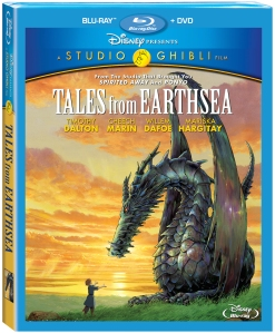 Tales From Earthsea Blu-Ray Box Cover Art
