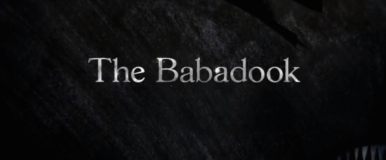 The Babadook Movie Title Logo