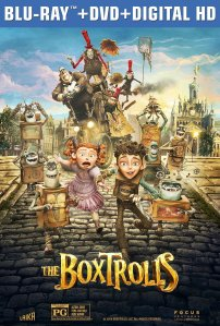 The Boxtrolls Blu-Ray Box Cover Art
