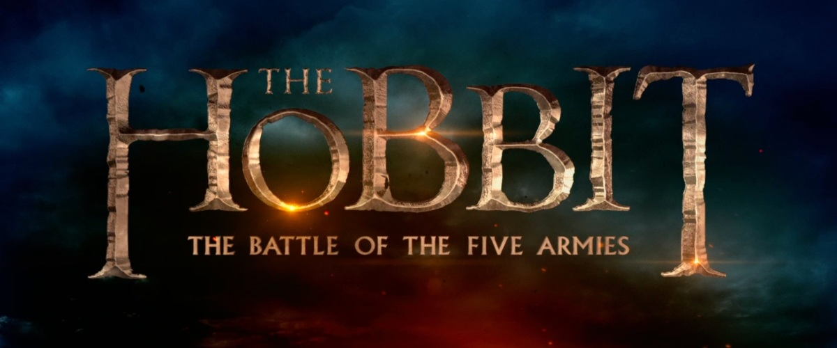 The Hobbit Battle of The Five Armies Logo Title Movie