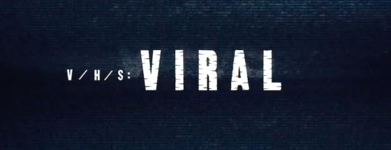 V/H/S Viral Movie Title Logo