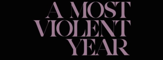 A Most Violent Year Movie Title Logo