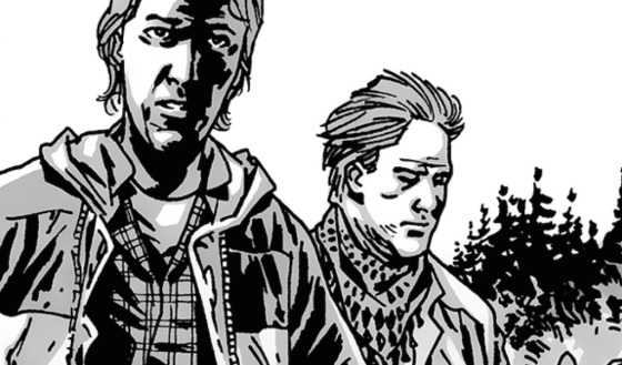 Aaron and Eric The Walking Dead