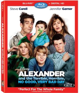 Alexander and Terrible, Horrible, No Good, Very Bad Day Blu-ray Box Cover Art
