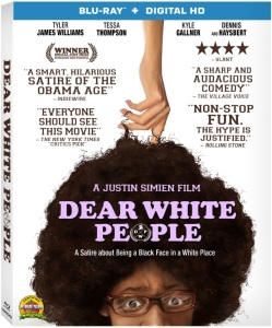 Dear White People Blu-ray Box Cover Art