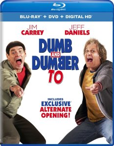 Dumb and Dumber To Blu-ray Box Cover Art