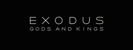 Exodus Gods and King Title Movie Logo
