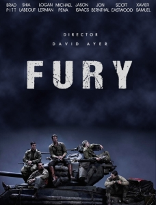 Fury Blu-ray Box Cover Art