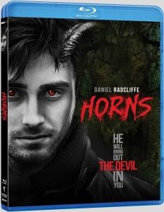 Horns 2014 Movie Blu-Ray Box Cover aRT