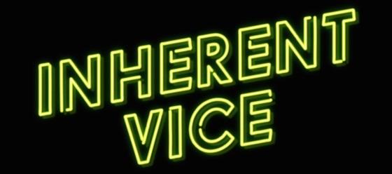 Inherent Vice Movie Movie Title Logo