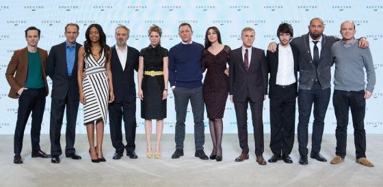 James Bond 24 SPECTRE Movie Cast Revealed