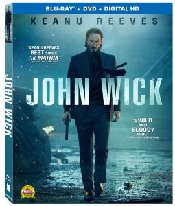John Wick Blu-Ray Box Cover Art