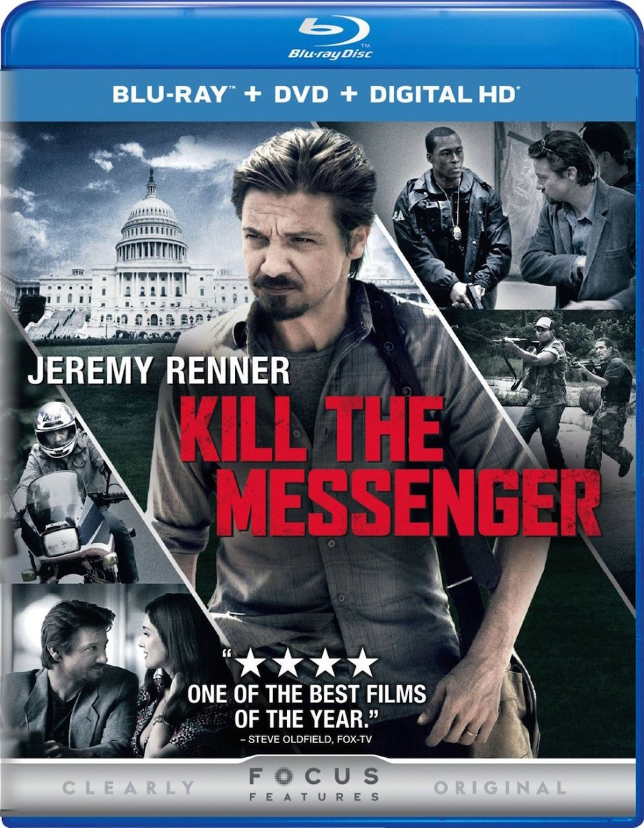 Kill the Messenger Blu-ray Cover Art