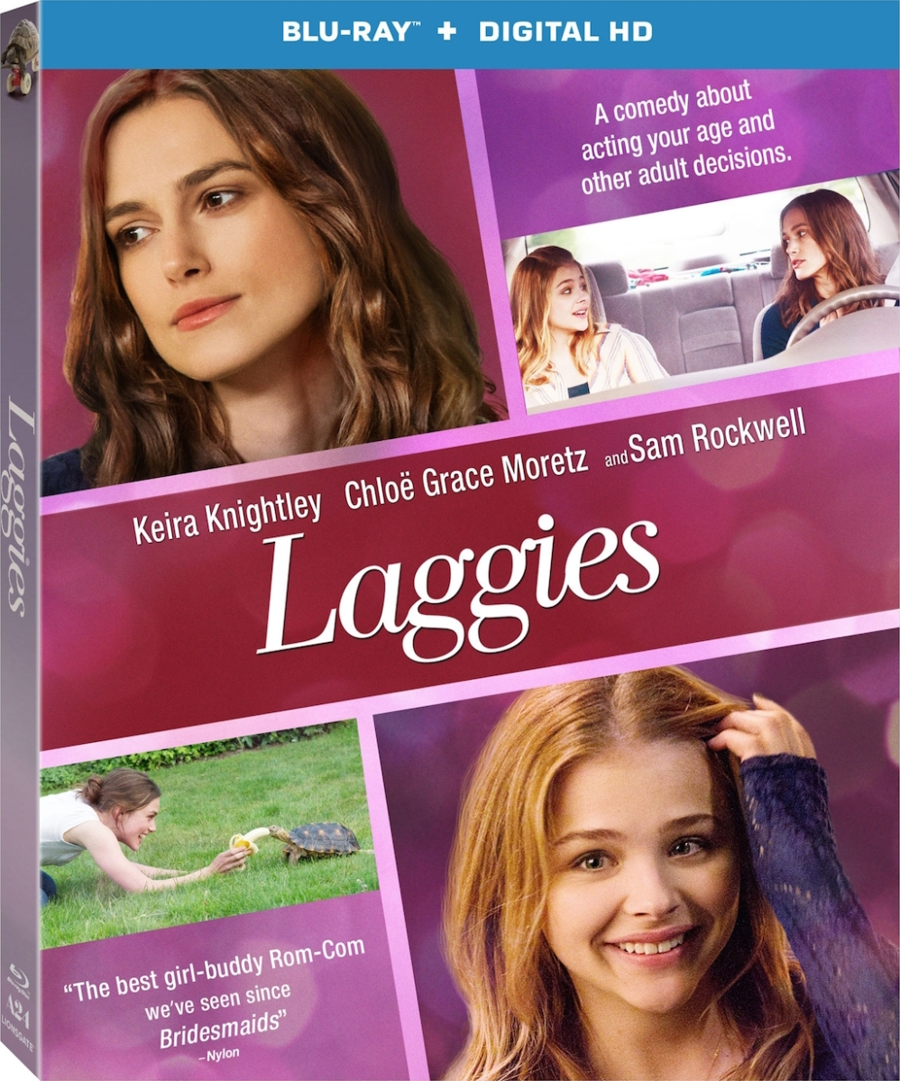 Laggies Blu-Ray Cover art