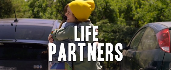 Life Partners Movie Title Logo