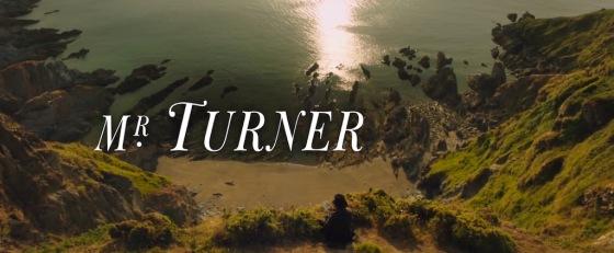 Mr Turner Movie 2014 Title Logo
