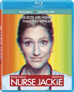 Nurse Jackie Season 6 Blu-ray Box Cover Art