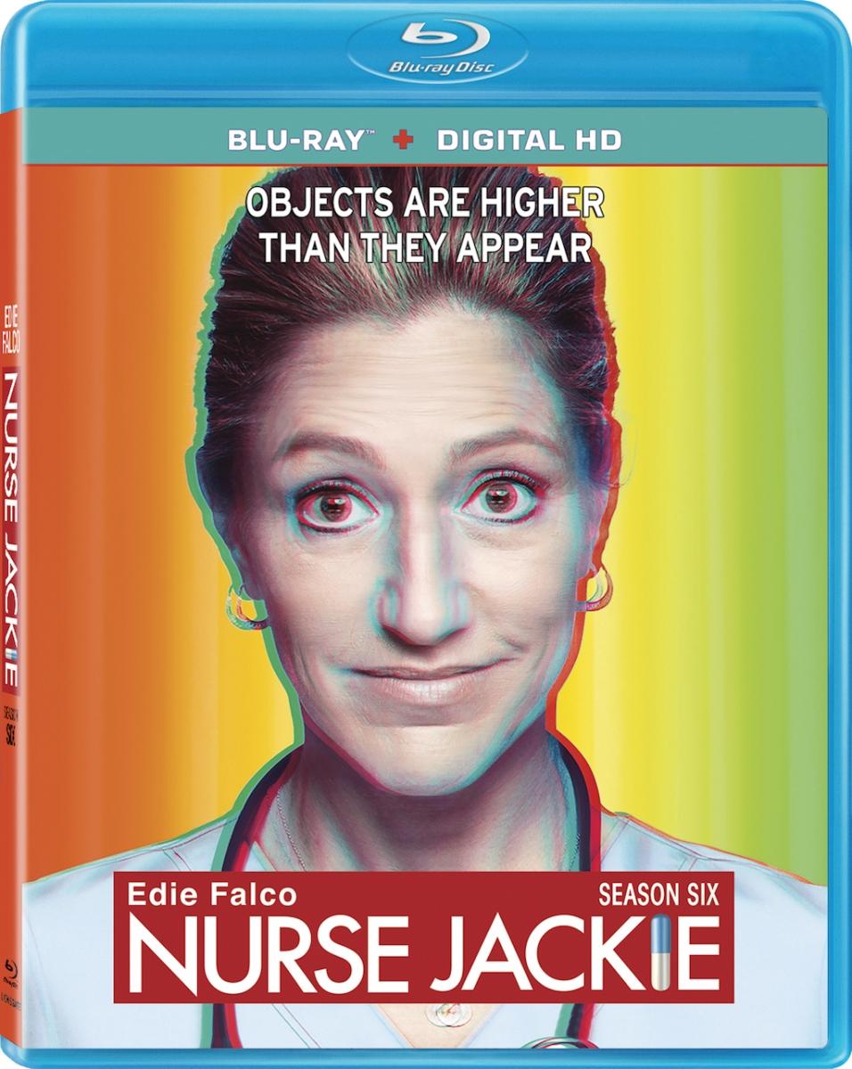 Nurse Jackie Season 6 Blu-ray Box Cover Art