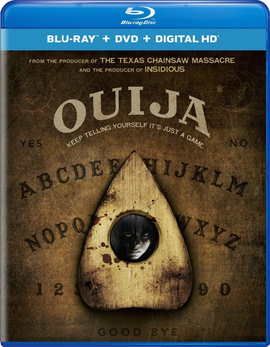 Ouija Blu-Ray Cover art
