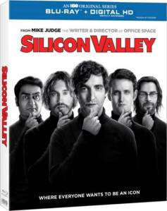 Silicon Valley Season One Blu-Ray Cover art