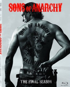 Sons of Anarchy Season 7 Blu-Ray Box Cover Art