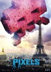 Space Invaders 'Pixels' Poster