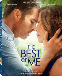 The Best of Me Blu-Ray Cover art