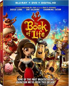 The Book of Life Blu-Ray Box Cover Art
