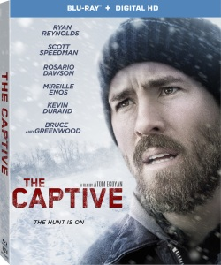 The Captive Blu-Ray Box Cover Art