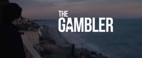 The Gambler Movie Title Logo