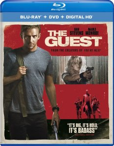 The Guest Blu-ray Box Cover Art