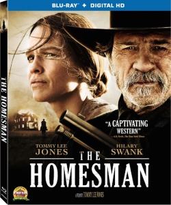 The Homesman Blu-ray Box Cover Art