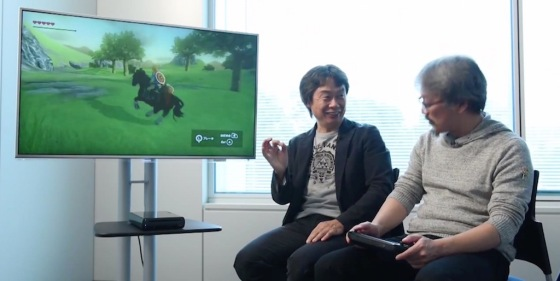 'The Legend of Zelda' for Wii U First Gameplay Footage