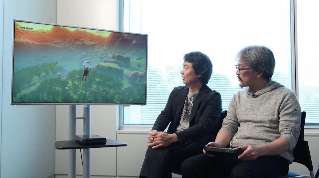 The Legend of Zelda Wii U Game Awards Teaser Gameplay 11