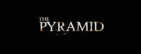 The Pyramid 2015 Movie Title Logo