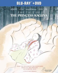 The Tale of the Princess Kaguya Blu-ray Box Cover Art