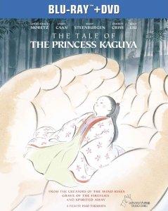 The Tale of the Princess Kaguya Blu-ray Box Cover Art