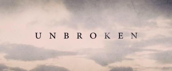 Unbroken Movie Title Logo