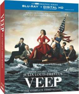 Veep Blu-Ray Cover art