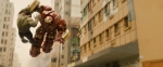Avengers Age of Ultron Movie Screenshot Hulkbuster Armor Fight