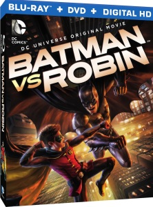 Batman vs. Robin Blu-Ray Box Cover Art