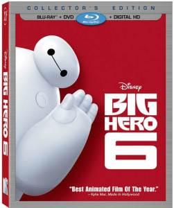 Big Hero 6 Disney Movie Blu-Ray Box Cover Art
