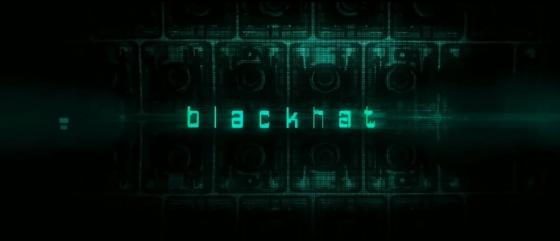 Blackhat Movie Title Logo