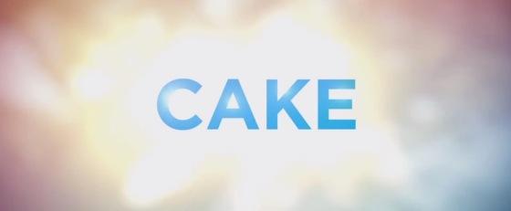 Cake 2014 Title Movie Logo