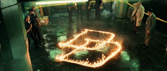 Daredevil 2013 Movie Fire Logo Ben Affleck