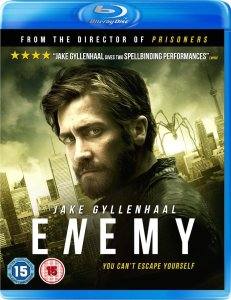 Enemy 2014 Blu-Ray Cover Art
