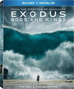 Exodus Gods and Kings Blu-Ray Box Cover Art