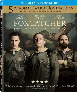 Foxcatcher Blu-Ray Box Cover Art