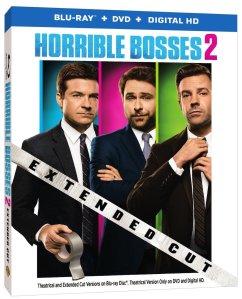 Horrible Bosses 2 Blu-Ray Cover Art
