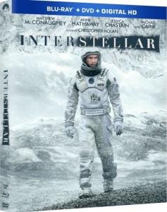 Interstellar Blu-Ray Box Cover Art
